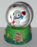 Snoopy Pawpet Theater Snowglobe