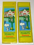 Snoopy & Woodstock at payphone Telephone Directory