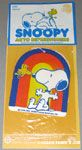 Snoopy & Woodstock in front of Rainbow Auto Air Freshener