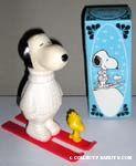 Snoopy's Ski Team Bubble Bath