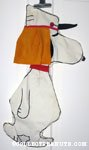 Snoopy Foreign Legion Pajama Bag
