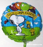 Snoopy and Woodstock with Balloons