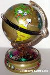 Peanuts Gang Globe Millenium Bank with Chocolate