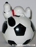 Snoopy on Soccer Ball