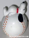 Snoopy on Baseball
