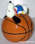Snoopy on Basketball