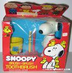 Snoopy Brush Brush ToothBrush