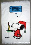 Peanuts & Snoopy Towels