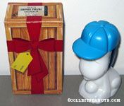 Snoopy wearing blue baseball cap Excalibur Surprise Package After Shave