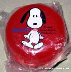 Snoopy walking Travel Soap Box Container