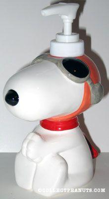 Peanuts Soap Dishes Amp Dispensers Collectpeanuts Com