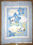 Baby Snoopy Crib Blanket