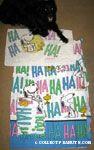 Snoopy & Woodstock laughing 'Ha Ha Ha' Sheets and Pillowcase Set