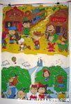 Peanuts Gang in Costumes Pillow Case