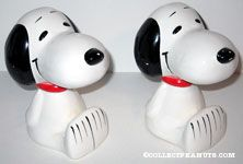 Peanuts & Snoopy Bookends