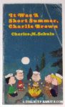 It was a Short Summer, Charlie Brown Books