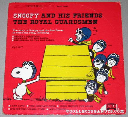 snoopy and his friends record - Snoopy And The Red Baron Christmas Song