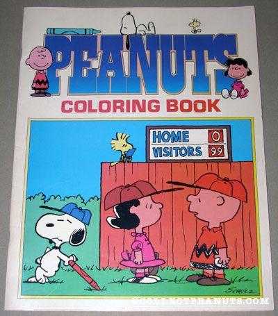 Peanuts General Coloring Books | CollectPeanuts.com