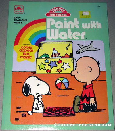 Peanuts Golden Coloring & Activity Books | CollectPeanuts.com
