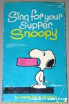 Sing for your Supper, Snoopy