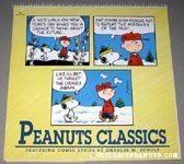 Snoopy & Charlie Brown walking in woods cartoon Peanuts Classics 1993  Calendar