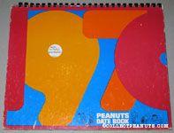 Peanuts Gang 1970 Date Book
