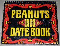 Peanuts 1968 Datebook