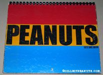 Peanuts 1972 Datebook