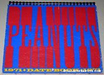 Peanuts 1971 Datebook