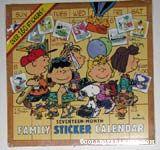 The Family Sticker Calendar