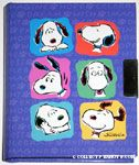 Snoopy Faces Diary