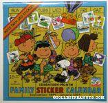 Family Sticker Calendar