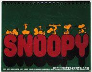 Snoopy 1975 Datebook