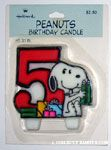 Peanuts & Snoopy Birthday Candles