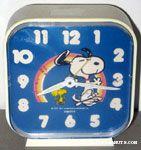 Peanuts & Snoopy Equity Clocks