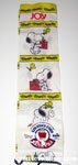 Snoopy and Woodstock with Christmas Presents Knee-hi socks