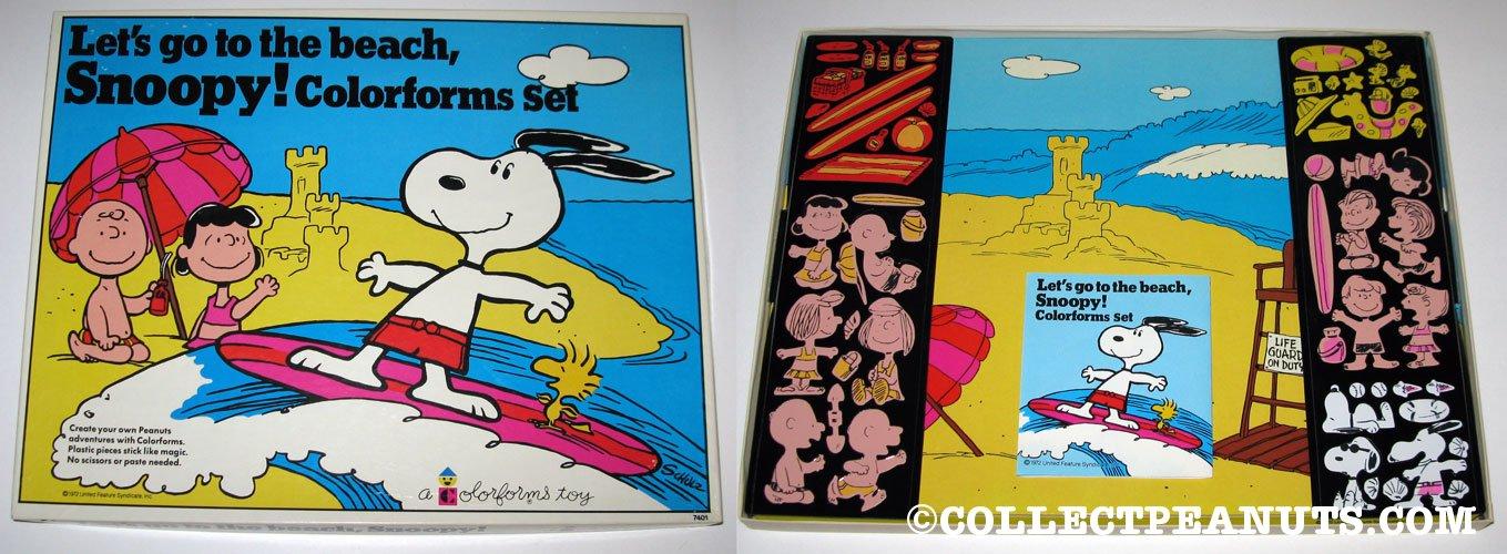 peanuts colorforms. Black Bedroom Furniture Sets. Home Design Ideas