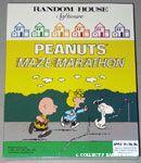 Peanuts Maze Marathon Computer Game