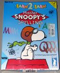 Yearn 2 Learn Snoopy's Master Spelling Computer Game