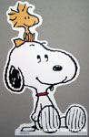 Snoopy with Woodstock on his head Cutout