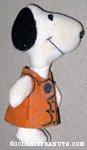 Snoopy wearing brown vest Plush
