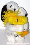 Snoopy hugging Woodstock Plush