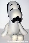 Snoopy with Mustache Rag Doll