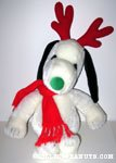 Snoopy as reindeer Plush