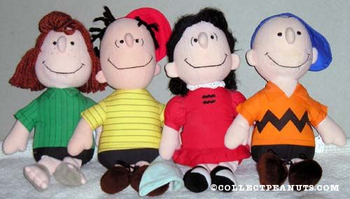 peanuts determined productions plush toys collectpeanuts com