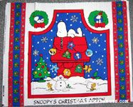 Snoopy's Christmas Apron