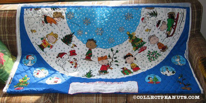 Charlie Brown Christmas Tree Skirt