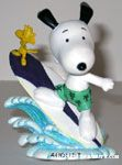 Snoopy & Woodstock Surfing