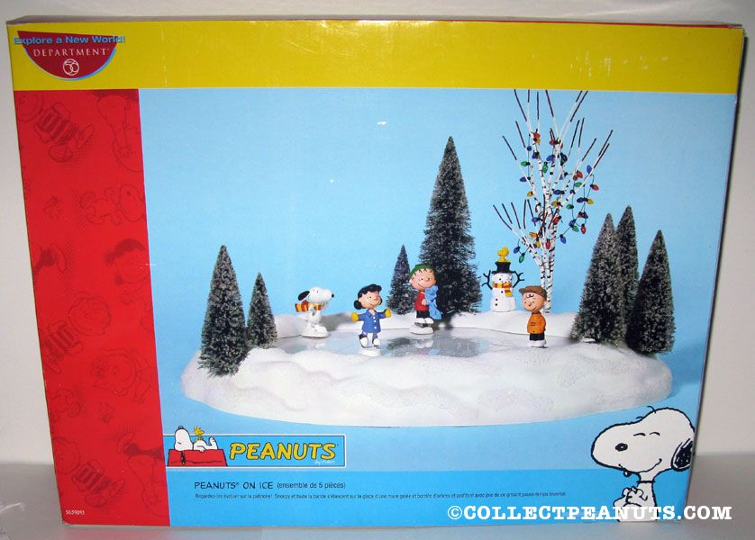 Peanuts Department 56 Figurines Collectpeanutscom
