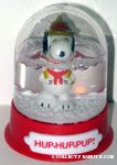 Snoopy Beaglescout 'Hup, Hup, Pup' Snowglobe